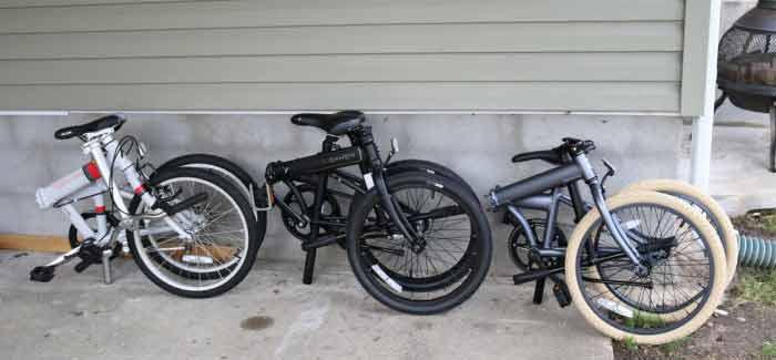 انواع دوچرخه تاشو