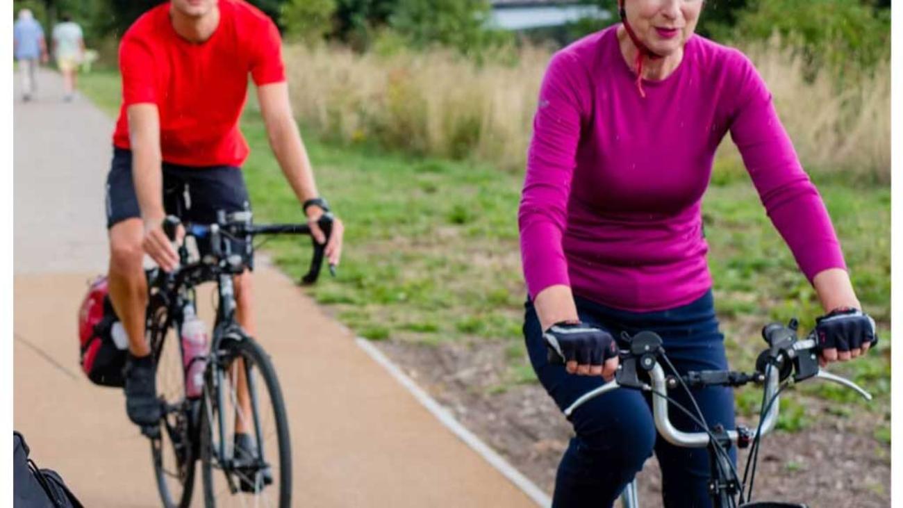 دوچرخه سواری فواید