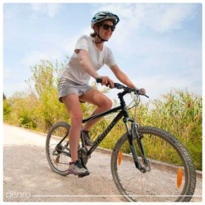 دوچرخه سواری و پوست