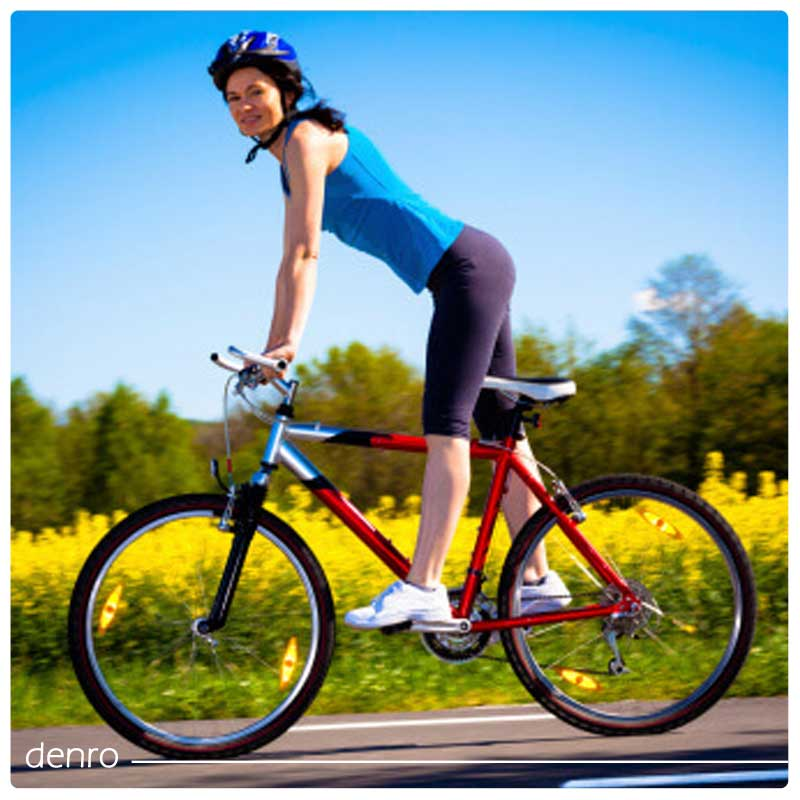 چگونه با دوچرخه سواری شکم خود را لاغر کنیم؟