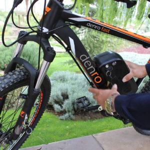 کمک پدال دوچرخه برقی دنرو مدل naksus
