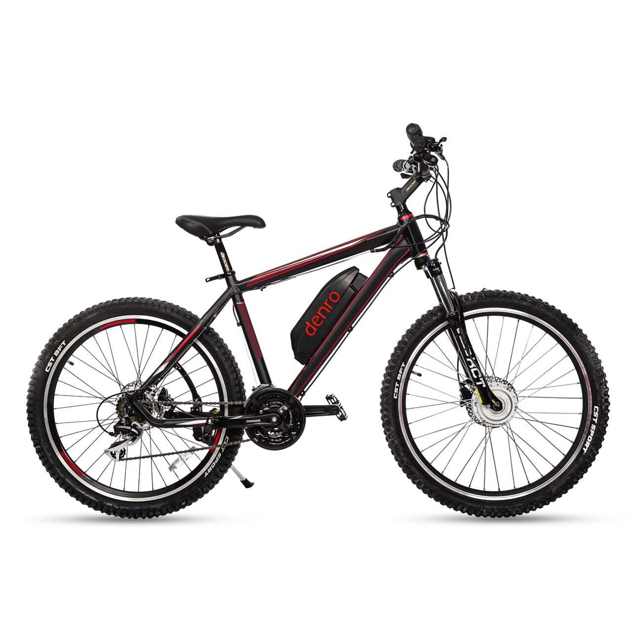 دوچرخه برقی دنرو مدل elegant 350w