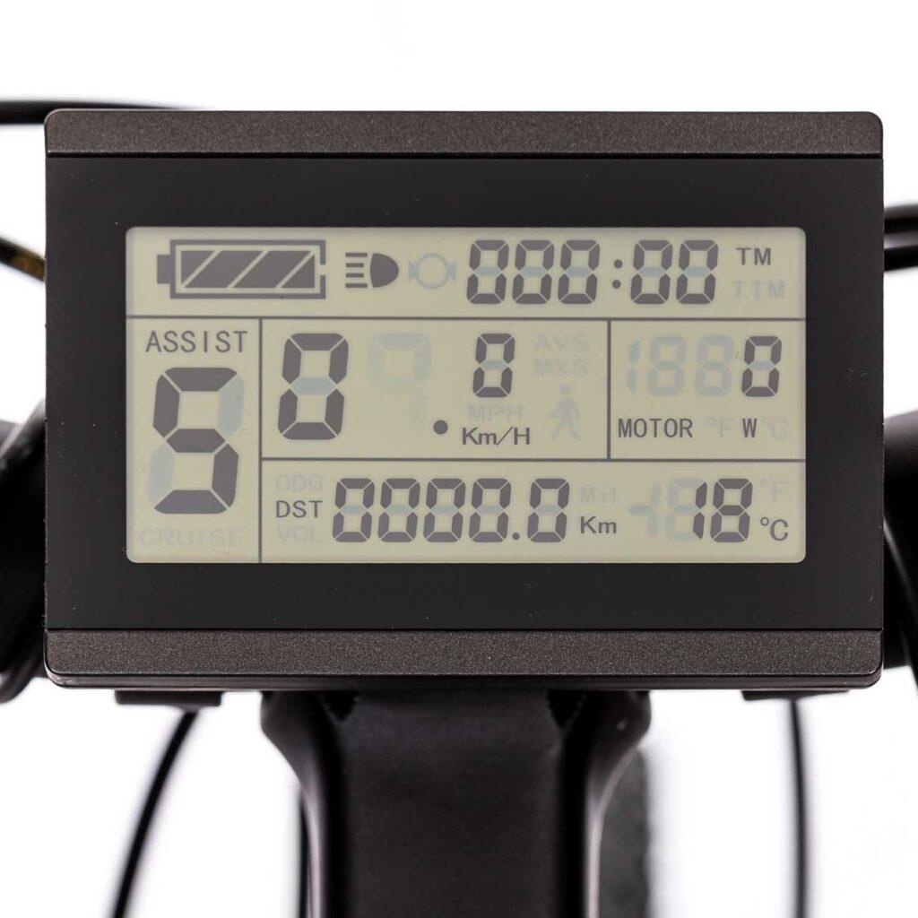 صفحه نمایش دوچرخه برقی دنرو الگانت5