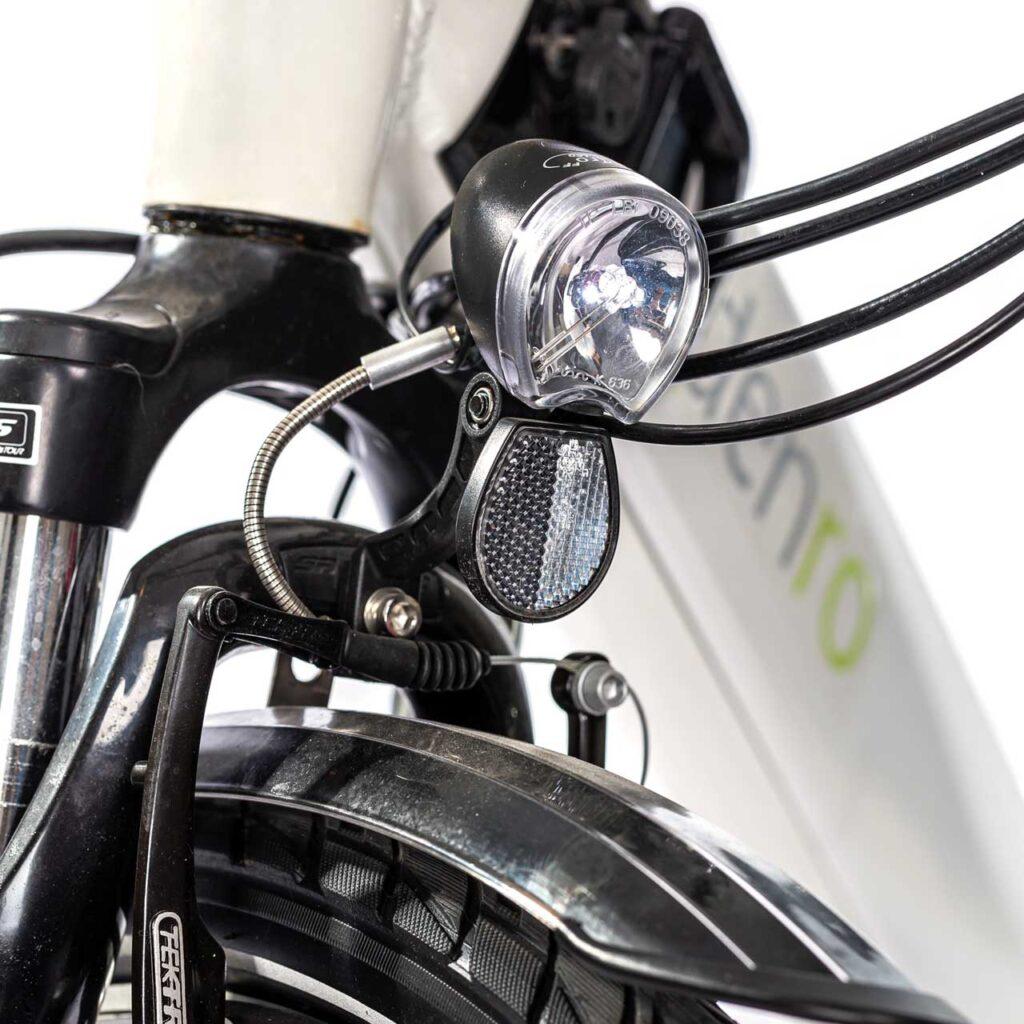 عکس چراغ جلو دوچرخه برقی شهری دنرو کارو
