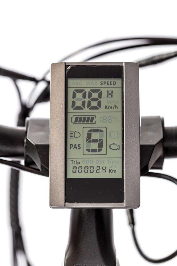 عکس دوچرخه برقی شهری دنرو کارو5