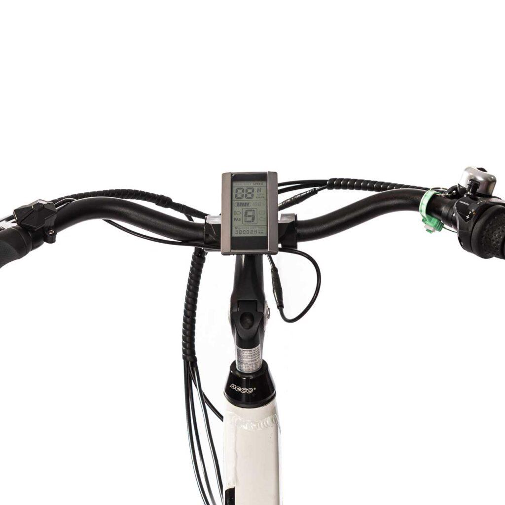 عکس فرمان دوچرخه برقی شهری دنرو کارو