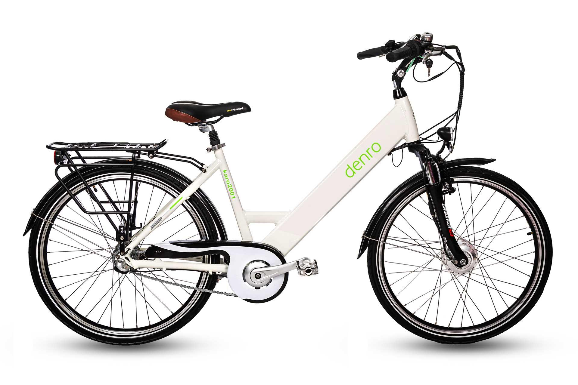دوچرخه برقی شهری دنرو کارو عکس
