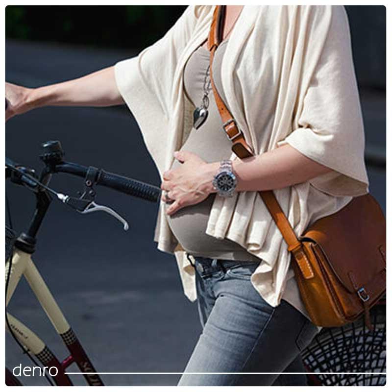 دوچرخه سواری در زمان بارداری