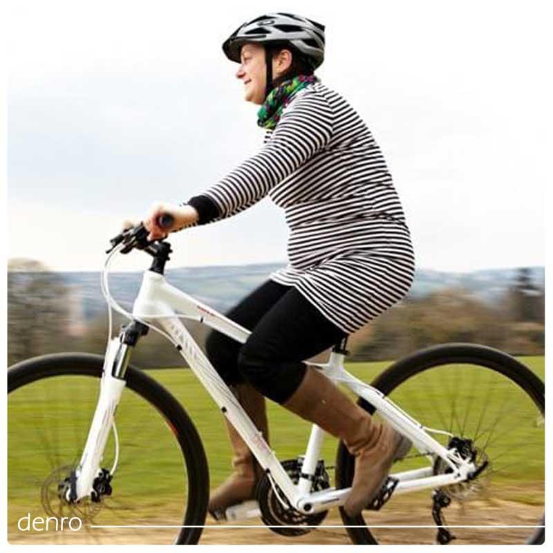 دوچرخه سوار حامله
