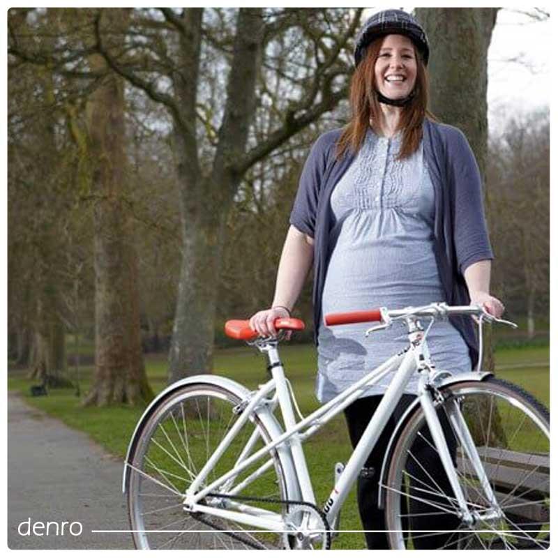 چگونه در زمان بارداری دوچرخه سواری کنیم