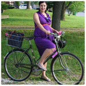دوچرخه سواری در بارداری