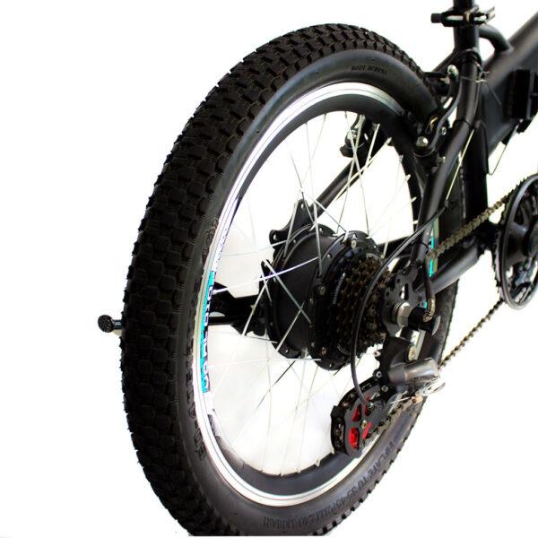 دوچرخه تاشو دنرو مدل fold