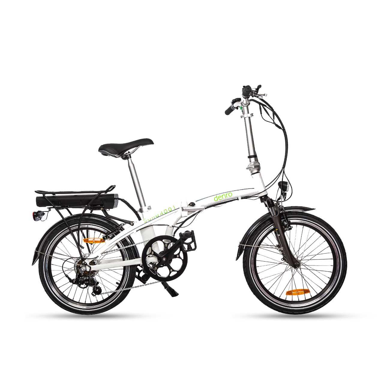 دوچرخه برقی تاشو دنرو مدل sana 350w