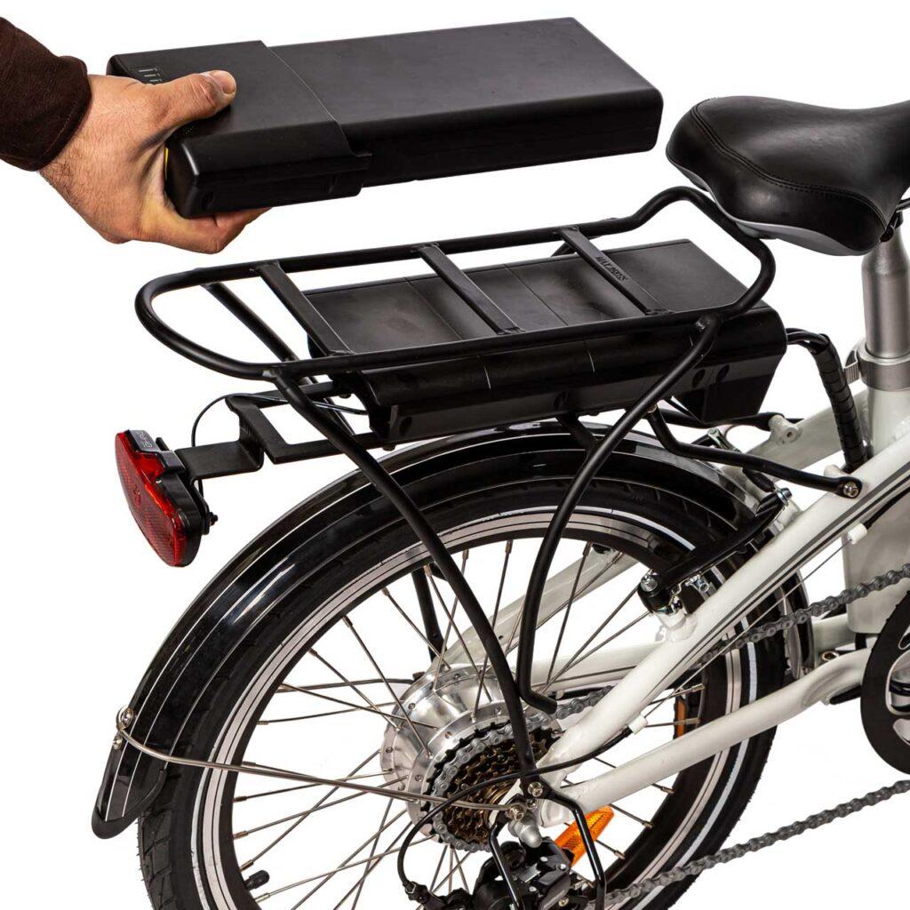 دوچرخه برقی تاشو سانا13