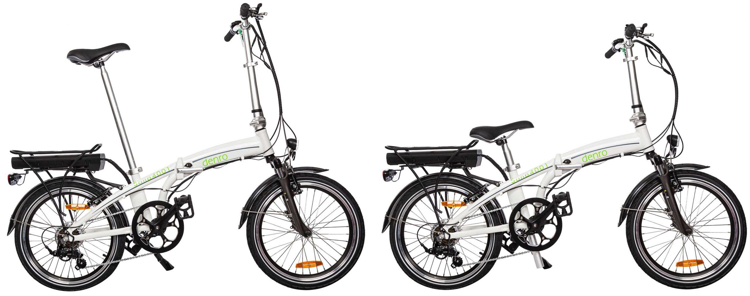 دوچرخه برقی تاشو سانا17