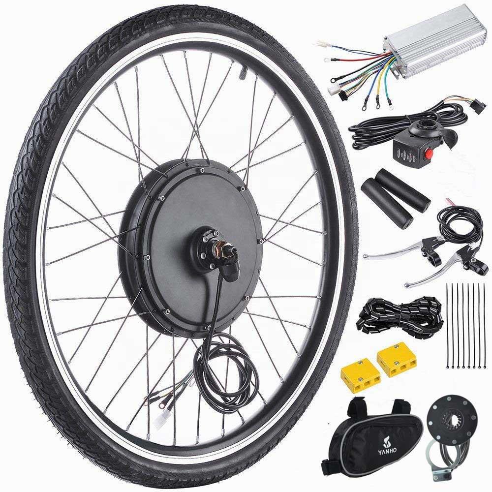 کیت تبدیل دوچرخه برقی 1000 وات مدل d1001