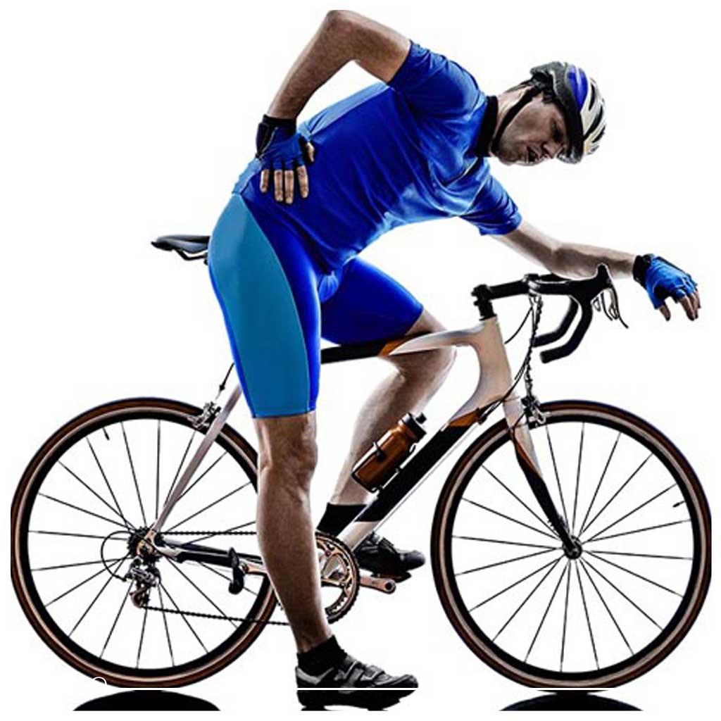 دوچرخه سواری و دیسک کمر1