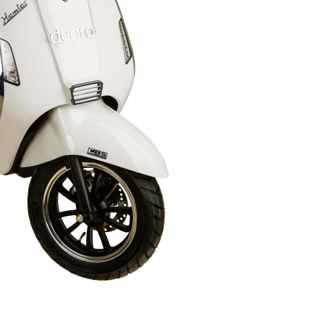 چرخ جلو موتور برقی طرح وسپا HT3000