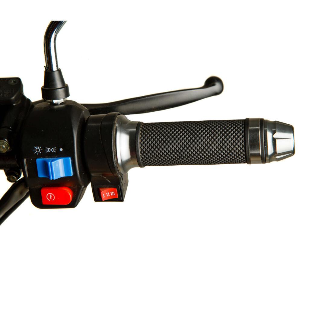 تصویر دکمه تنظیم توان موتور سیکلت برقی EH1200