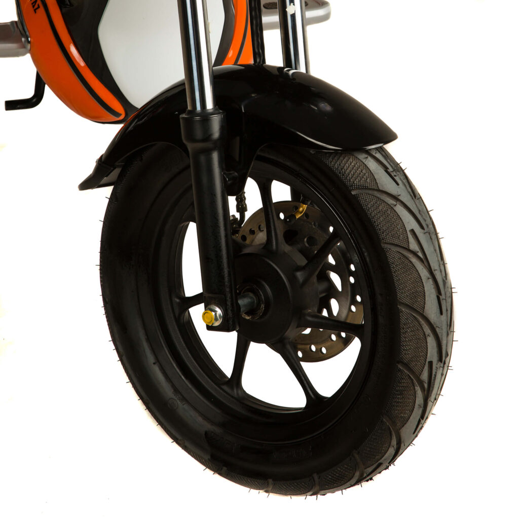 عکس طراحی چرخ جلو موتور برقی EH1200