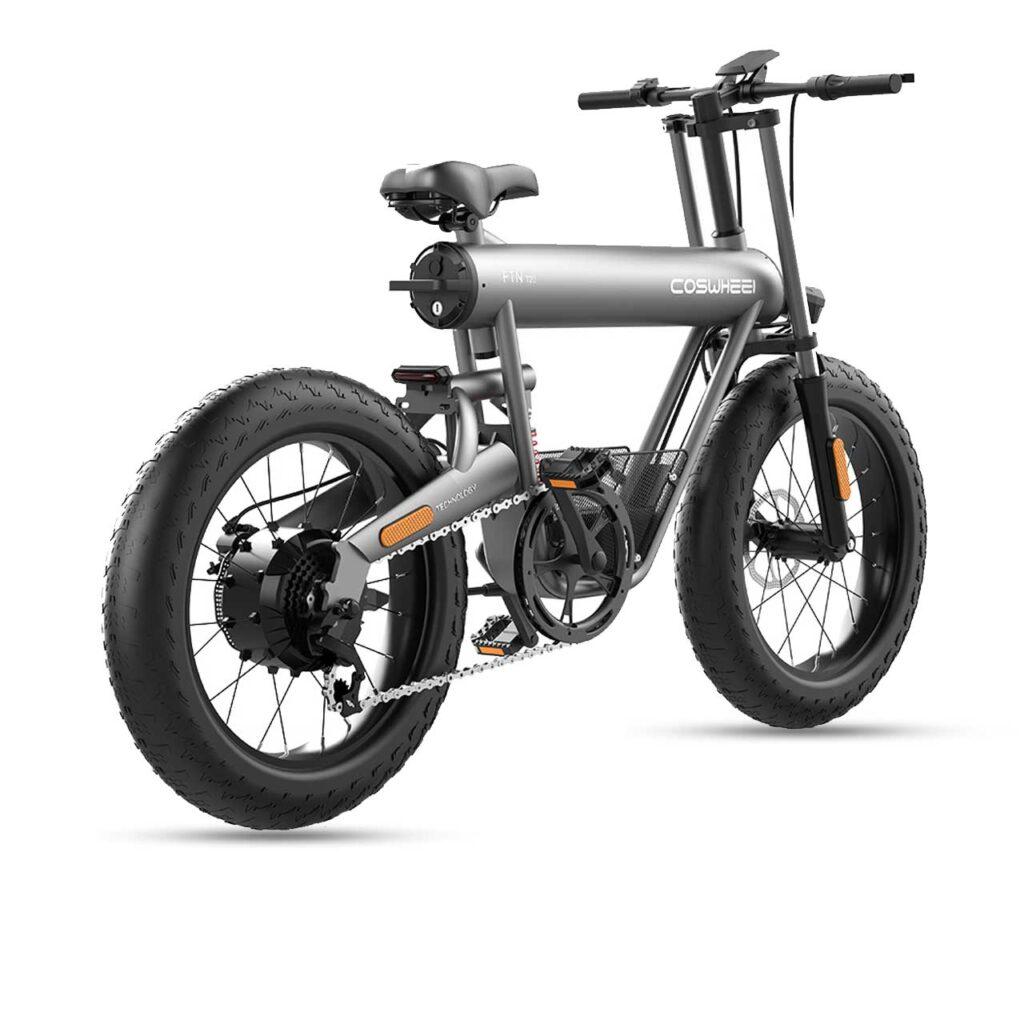 دوچرخه برقی دنرو coswheel