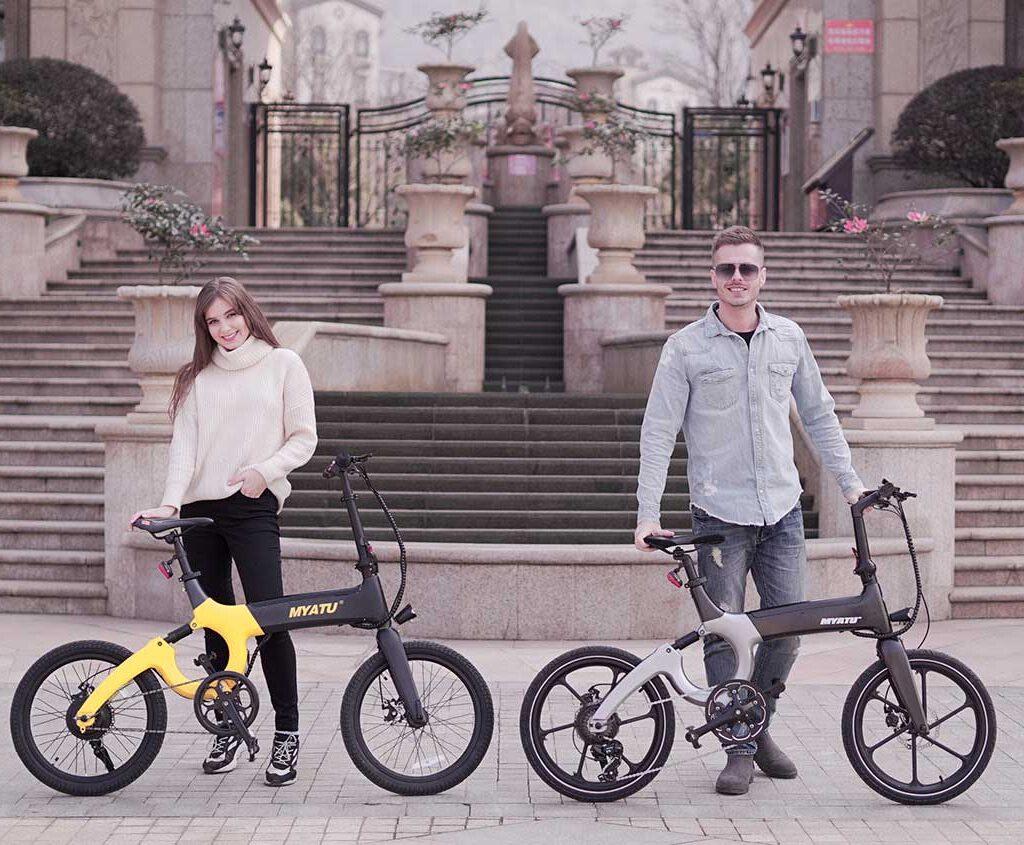 دوچرخه الکترونیکی myato