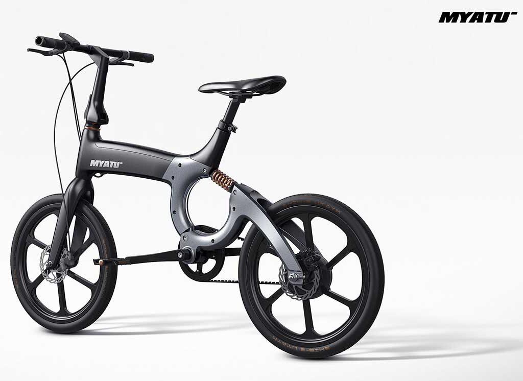 تصویر دوچرخه برقی myato