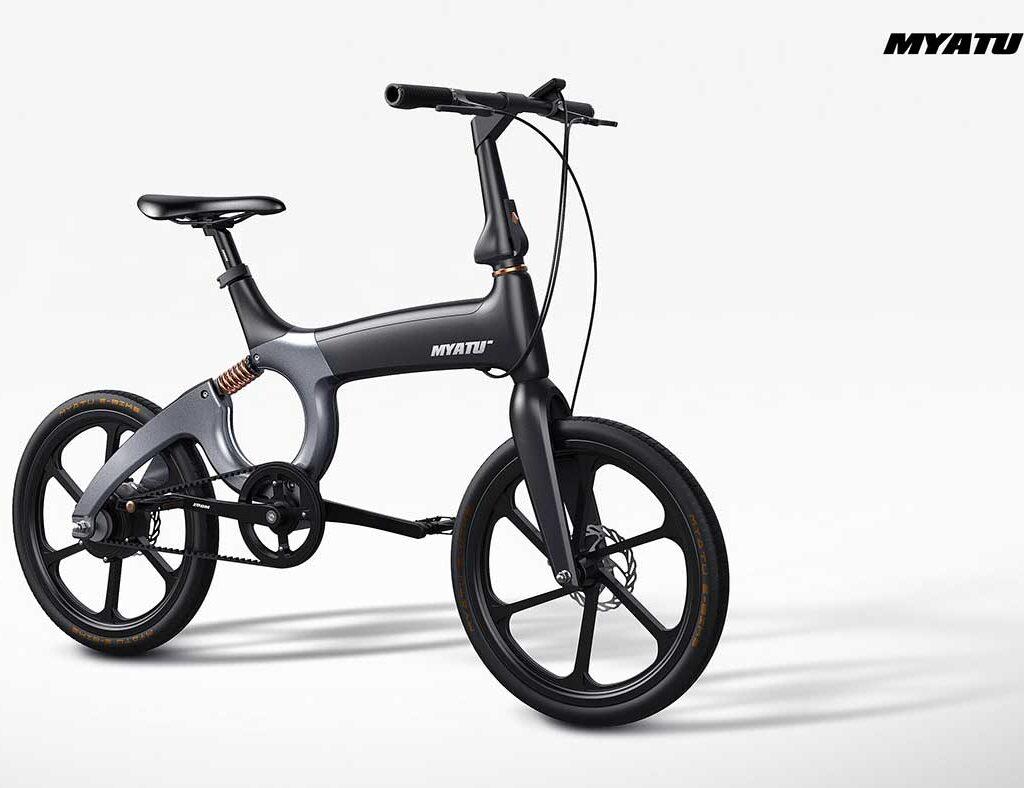 دوچرخه الکترونیکی myato مشکی