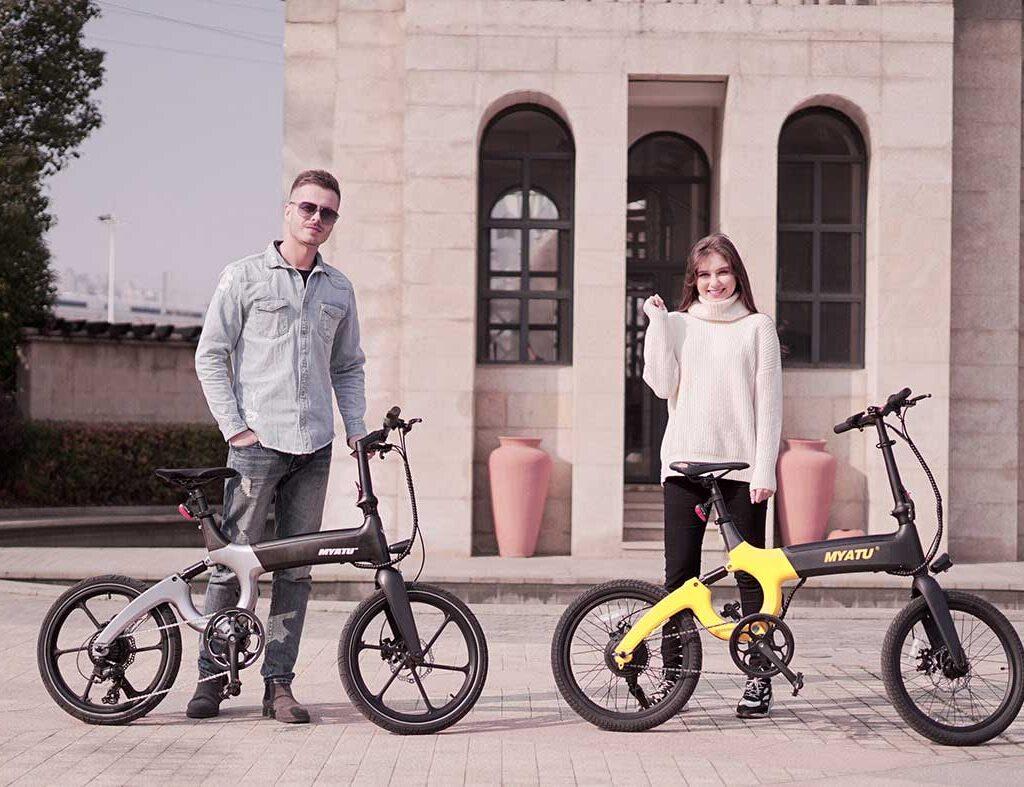 دوچرخه برقی myato لوکس
