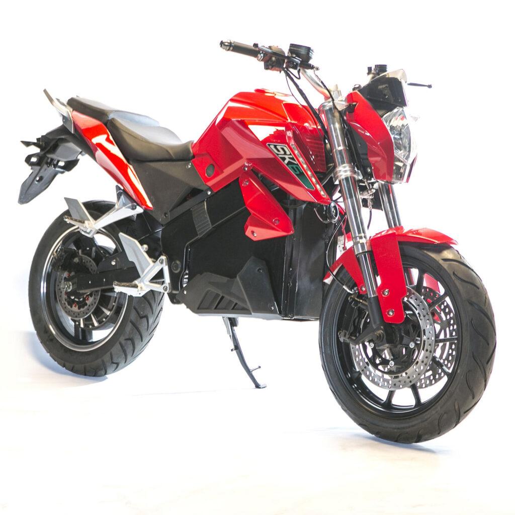 عکس موتور برقی SK6 رنگ قرمز
