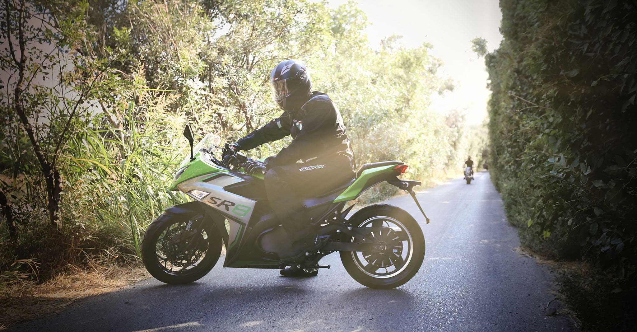 موتور سیکلت برقی SR 7000
