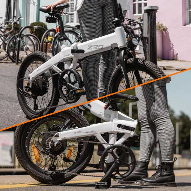 تصویر دوچرخه برقی تاشو Xiaomi z20