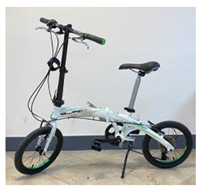 دوچرخه تاشو compact fold