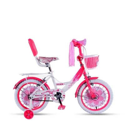 دوچرخه دخترانه سایز 16 صورتی