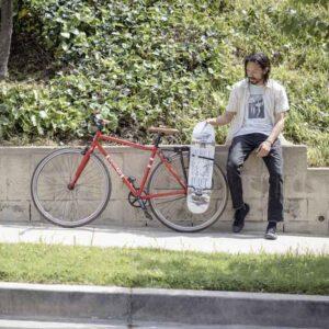 دوچرخه یا تخته اسکیت