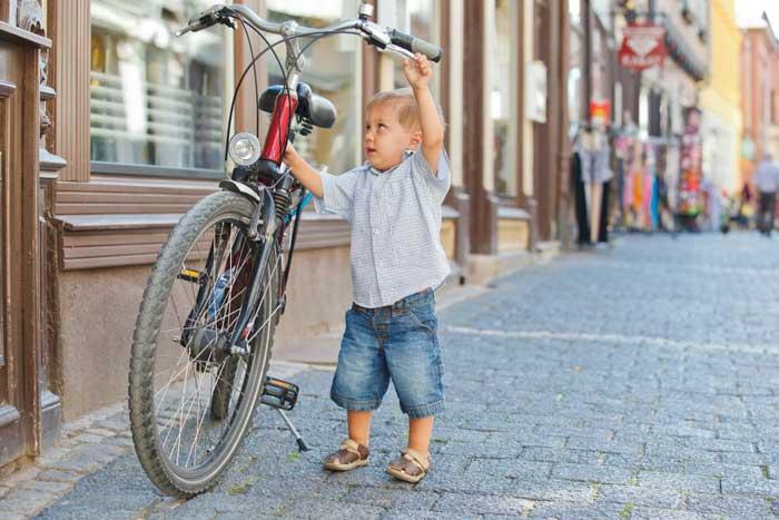 دوچرخه مناسب کودک
