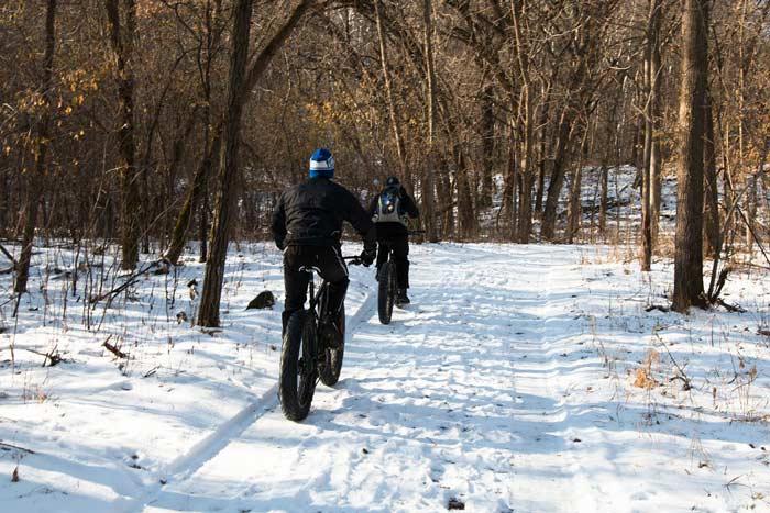 دوچرخه لاستیک پهن مناسب زمستان