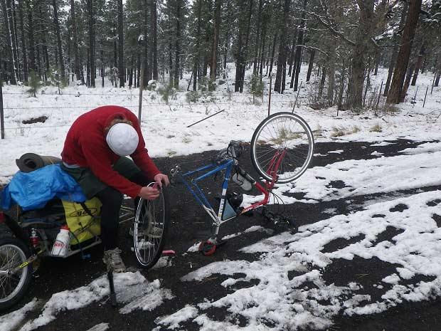 تعمیر چرخ دوچرخه