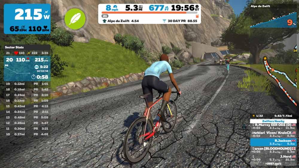 ترکیب VR و دوچرخه ثابت