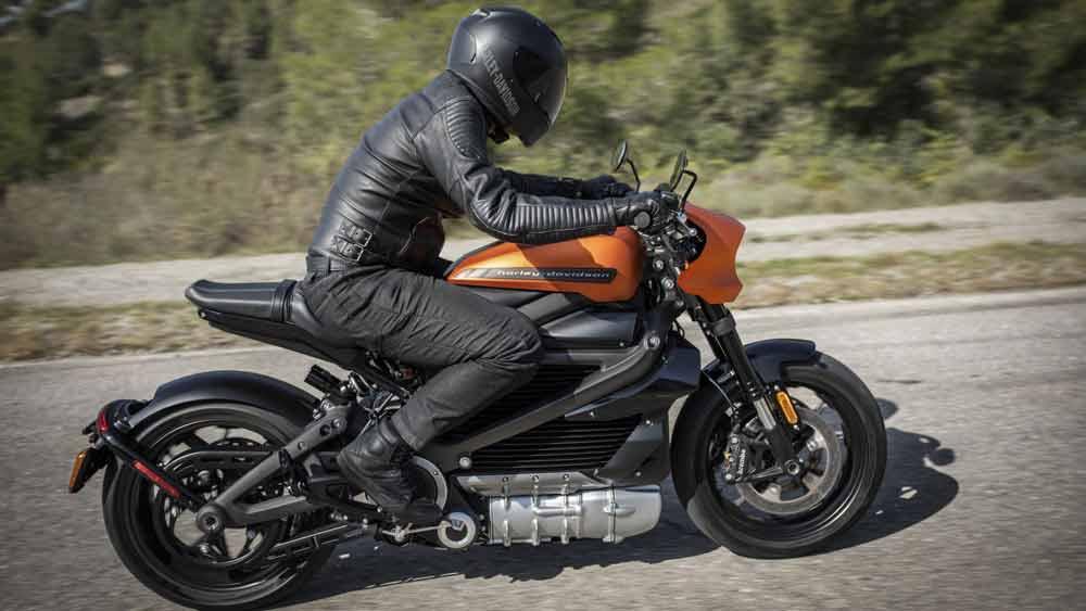 موتور سیکلت برقی Harley Davidson LiveWire