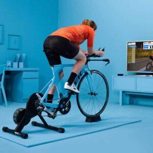 دوچرخه سواری با بازی zwift