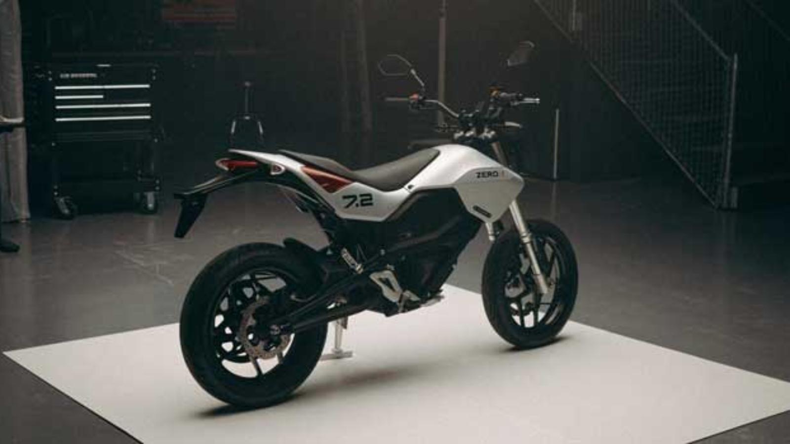 موتور سیکلت برقی جدید Zero FXE