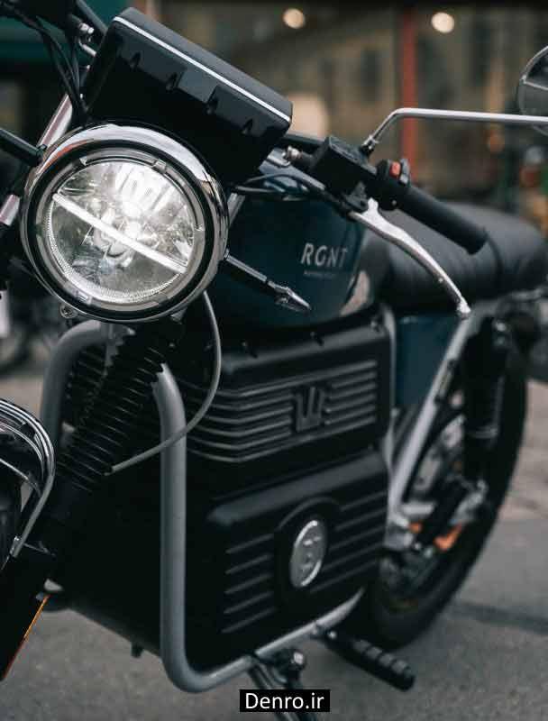 چراغ جلو موتور سیکلتهای برقی RGNT