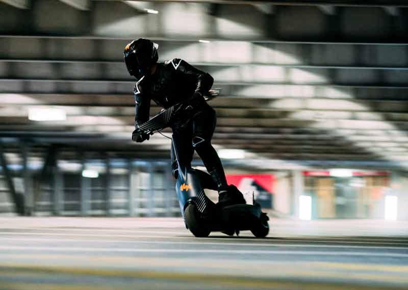 اسکوتر مخصوص مسابقه ، اسکوتر برقی YCOM S1-X